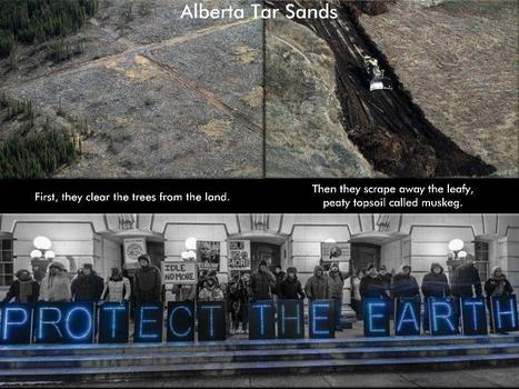 These Pictures May Give You Nightmares About The Canada Oil Sands - #IdleNoMore @OLBLightBrigade | IDLE NO MORE WISCONSIN | Scoop.it