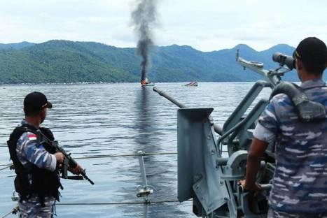 L'Indonésie continue d'utiliser la manière forte contre la pêche illégale ! | Rays' world - Le monde des raies | Scoop.it