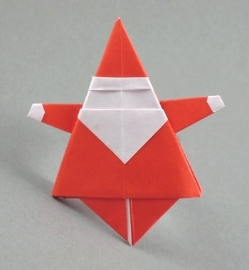 Origami Santa Claus for Christmas 2 | Christmas Ideas that rock! | Scoop.it