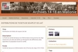 Belgique : archives de Wallonie et Bruxelles 14-18 en ligne | Histoire Familiale | Scoop.it