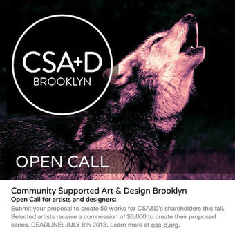 Community-Supported Art & Design to Launch in Brooklyn this Fall | A Dose of DSW's Net | Scoop.it