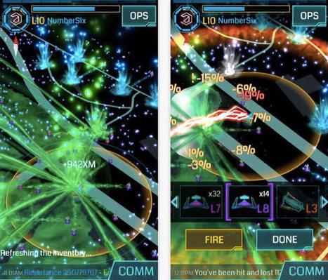 Google met à jour son jeu de réalité augmentée « Ingress » - iPhonote.com / Le Mag Apple | Réalité augmentée and e-commerce | Scoop.it