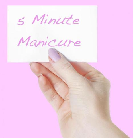 Help Me!: 5 Minute Mani | For the Love of AVON Products | Scoop.it
