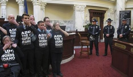 23 gay rights activists arrested in Idaho House and Senate - Washington Times | Gender, Religion, & Politics | Scoop.it