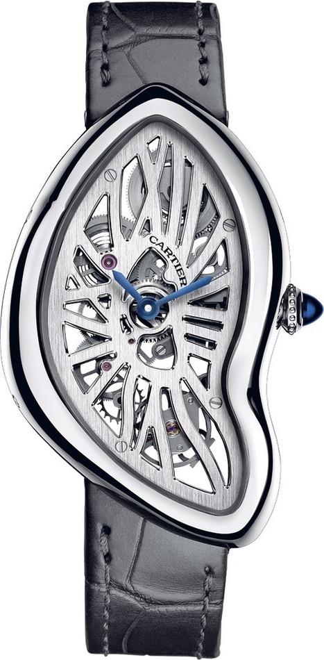 Cartier Montre Crash Squelette Calibre 9618 MC | Montre, Horlogerie,Chronos | Scoop.it