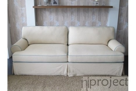 Beige Double Seater Sofa by Savanna   Internet Marketing Indonesia   Scoop.it