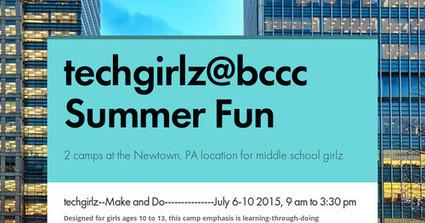 techgirlz@bccc  Summer Fun   Computational Thinking In Digital Technologies   Scoop.it