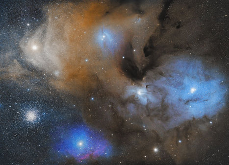 NASA's Astronomy Picture Of The Day: The Colorful Clouds Of Rho Ophiuchi - Socks On An Octopus | SOAO Science And Tech | Scoop.it