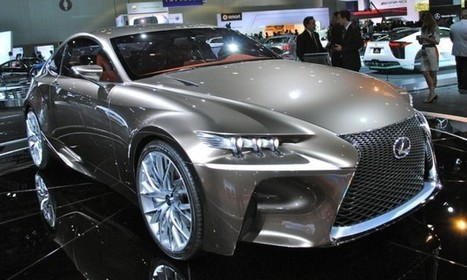 2014 Lexus IS Showcased In Detroit Auto Show | Auto Guide India | Scoop.it