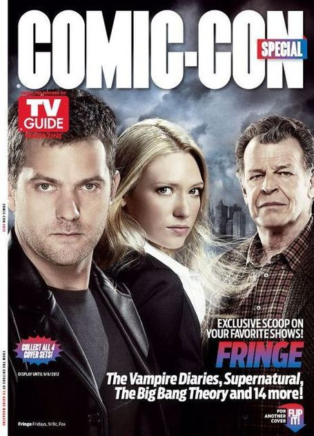 TV Guide Magazine: Fringe, Supernatural, Vampire Diaries Comic-Con Covers | Fringe Chronik | Scoop.it