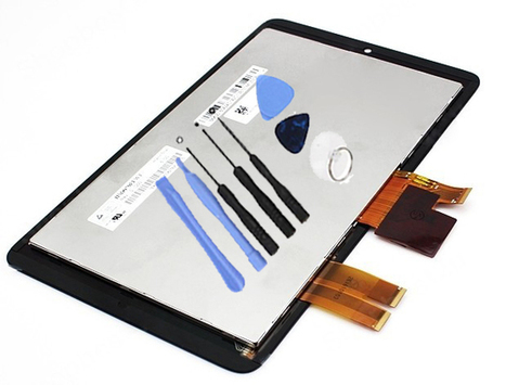Black LCD Assembly For ASUS MeMO Pad ME172V ME172 + 8 Tools Kit | Latest phone accessories | Scoop.it