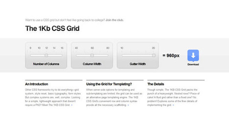 50 Useful Tools and Generators for Easy CSS Development | Design-101 | Scoop.it