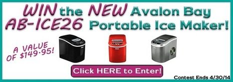 We're Giving Away 3 Portable Ice Makers from Avalon Bay! Enter NOW! | Air & Water, Inc. Blog | Wine, Wine and more Wine!! | Scoop.it