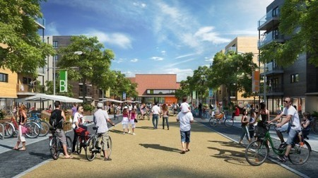 "UK's ""first eco-town"" built green from the ground up - Gizmag 
