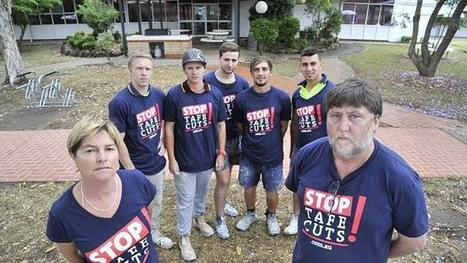 TAFE cuts and fee increases could do a world of hurt - The Daily Telegraph | TAFE Vocational Education and Training | Scoop.it