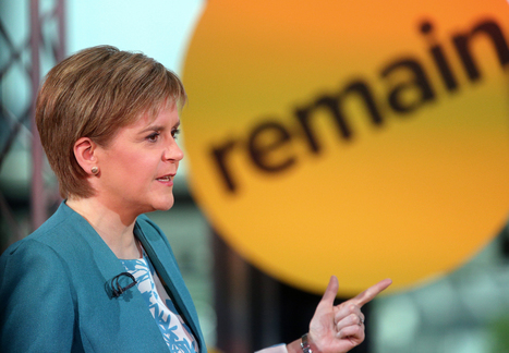 Want Scottish independence? Then vote to remain in the EU, says Sturgeon - The Courier | My Scotland | Scoop.it