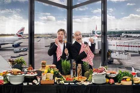 Dining Guide To Heathrow Airport Directs Travelers To Tasty Bites - PSFK | Modes de vie et modes de faire | Scoop.it