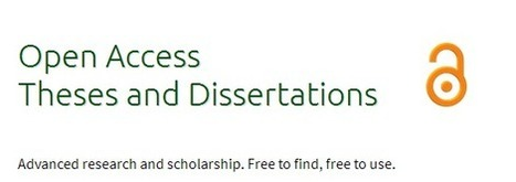 Open Access Theses and Dissertations – new search tool | Open Science | Open Knowledge | Scoop.it