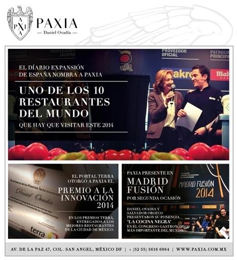 El paixa en mexico , de los mejores 10 restaurantes! | Red Restauranteros - Marketing & Technologia | Scoop.it