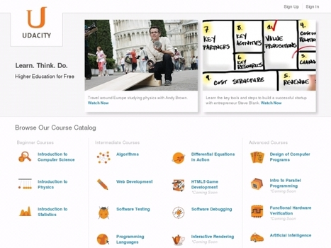 Online Learning: Udacity and Coursera Comparison | Campus Life | Scoop.it