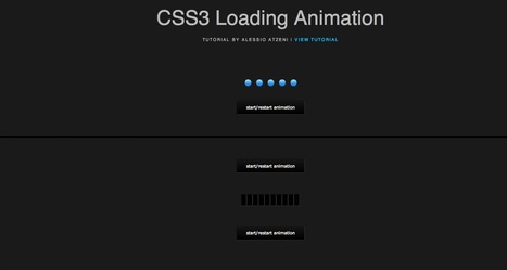 CSS3 Loading Animation | Alessio Atzeni | Web Designer & Front-end Developer | CSS3 Javascript JQuery HTML5 - node.js vert.x | Scoop.it