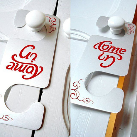 Do Not Disturb: 15 More Creative Hotel Door Hangers | Strange days indeed... | Scoop.it
