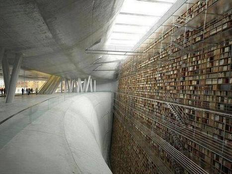 Twitter / ThatsEarth: Wall of Knowledge. Stockholm ... | Information | Scoop.it
