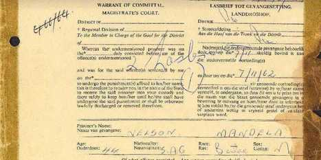 Here's The Infamous 1962 Document Committing Mandela To Prison | Social Studies Education | Scoop.it
