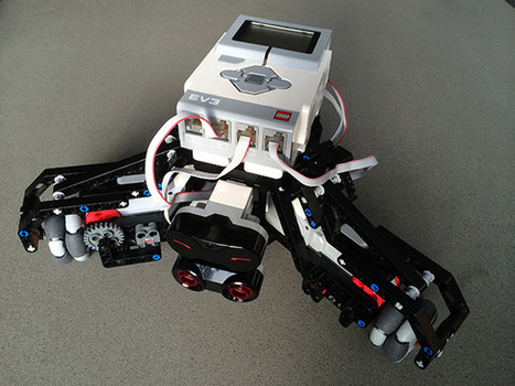 LeJOS, the Java Operating System for Legos, Releases EV3 Beta ... | Heron | Scoop.it