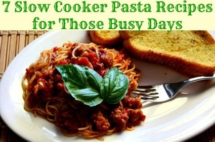 7 Slow Cooker Pasta Recipes for Those Busy Days - Babble | Vegetarian slow cooker recipes | Scoop.it