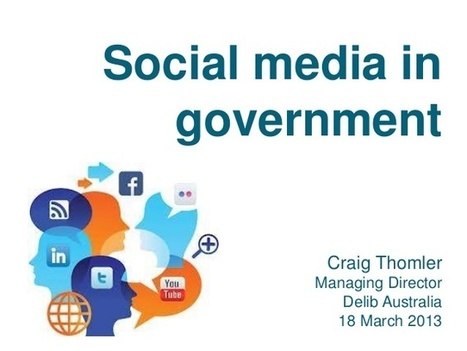 How Government in Australia is (and Can) Use Social Media | GovOnTheWeb2 | Scoop.it