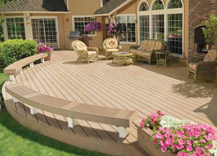 Indulge In Elegant Outdoor Living with Quality Composite Decking   Composite Decking and Railing   Scoop.it