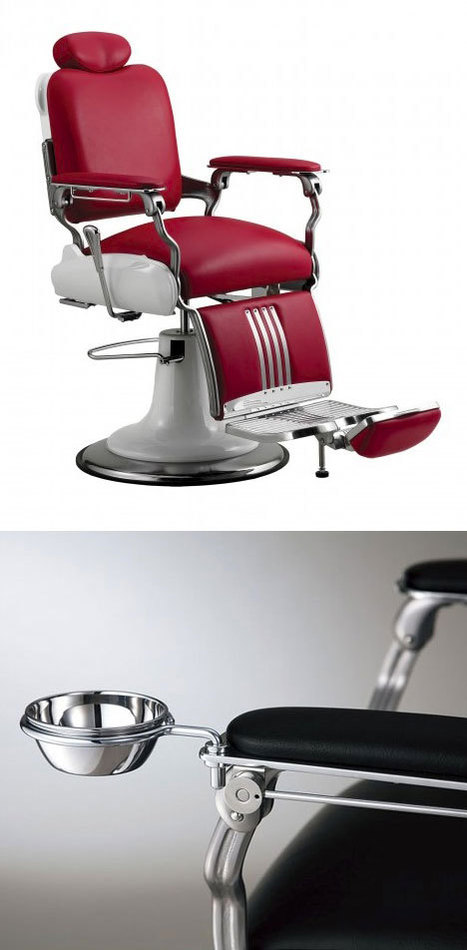 "Chairs that Start with a ""B:"" The Barbershop Chair 