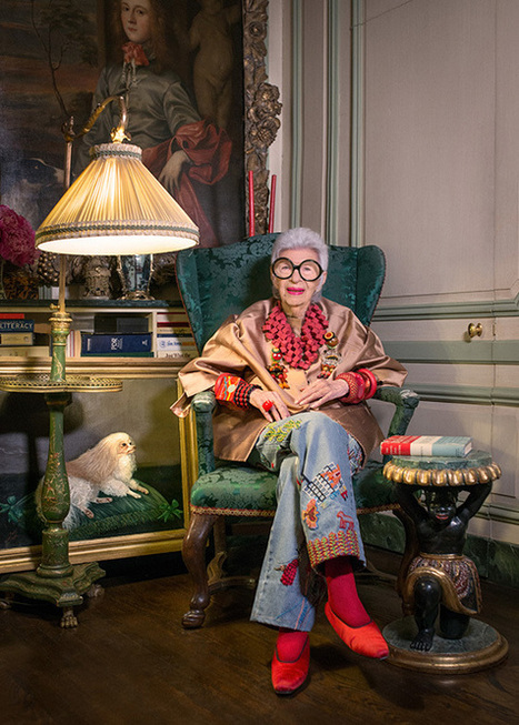 Iris Apfel s'expose au Bon Marché Rive Gauche - Fashion Spider - Fashion Spider – Mode, Haute Couture, Fashion Week & Night Show | Expositions - Culture | Scoop.it