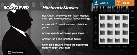 Hitchcock Movies Quiz | Box Clever | QuizFortune | Quiz Related Biz - Social Quizzing and Gaming | Scoop.it