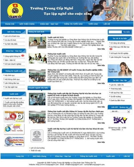 Thiết kế website doanh nghiệp công ty chuẩn SEO chuyên nghiệp | Dạy Học Thẩm Mỹ | Scoop.it