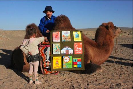 Camel Mobile Library, Mongolia | Bibliothèques et jeunesse | Scoop.it