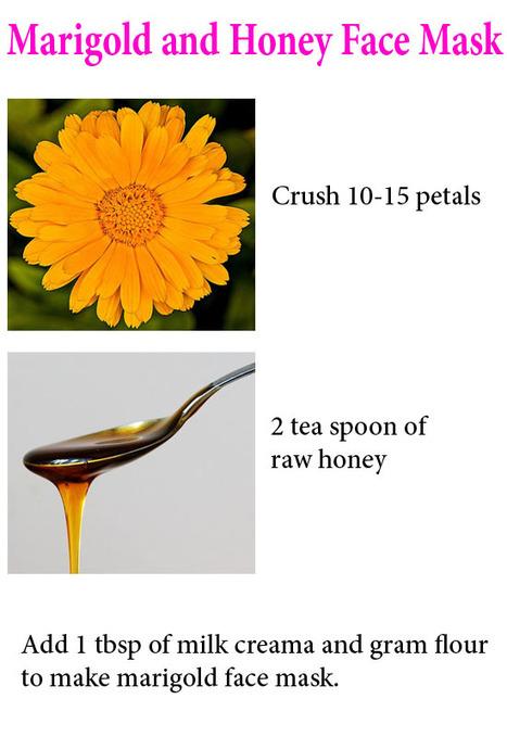 Homemade Marigold Face Mask Recipes - Skin Disease Remedies   Skin Disease Remedies   Scoop.it