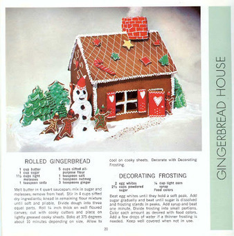 Gingerbread House Recipe & Pattern | Vintage Living Today For A Future Tomorrow | Scoop.it