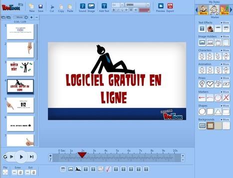 Logiciel professionnel gratuit en ligne powtoon for Logiciel fabrication meuble gratuit