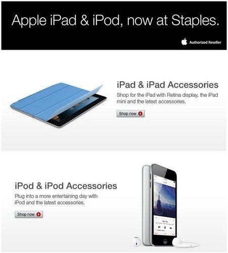Office Supply Chain Store Staples Starts Selling Apple's iPad And ... | Supply Chain | Scoop.it
