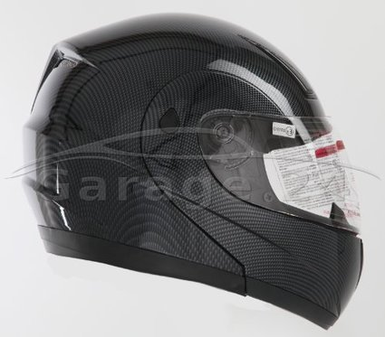 %%%   Stark K71 Carbon opt. Klapphelm Flip Up Helm Motorradhelm ECE 2205 Größe: S 55/56cm | Klapphelme günstig | Scoop.it