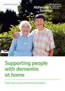 New dementia training DVD launched for homecare workers - Alzheimer's Society | Helping Hands Market Intelligence Report 18th January 2013 | Scoop.it