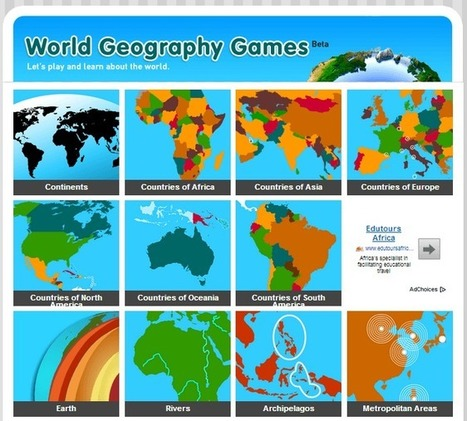 World Geography Games | Rincón didáctico de CCSS, Geografía e Historia | Geografía secundaria | Scoop.it