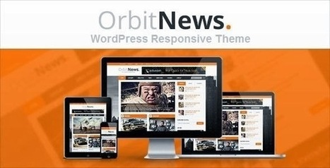 Orbit News - WordPress Responsive Magazine Theme | Free Download Template | Scoop.it