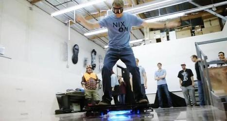 Tony Hawk Rides World's First Real Hoverboard - Hendo Hover   A Rich Selection Of The Latest News www.canbeweird.com   Scoop.it