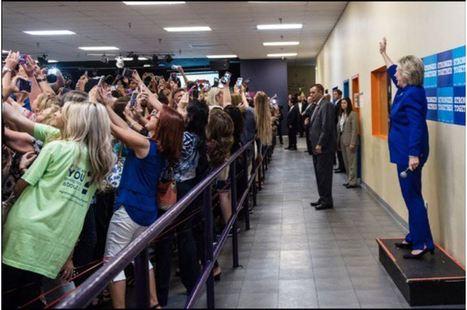 Les femmes américaines tournent le dos à Hillary | Epic pics | Scoop.it