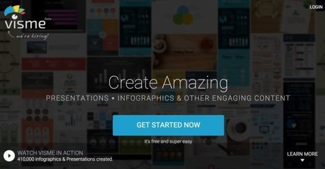 Visme: création de graphiques, présentations et infographies | FLE et nouvelles technologies | Scoop.it