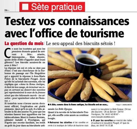 le sex appeal des biscuits Sétois | #SETE : office de tourisme hyper connecté | Scoop.it
