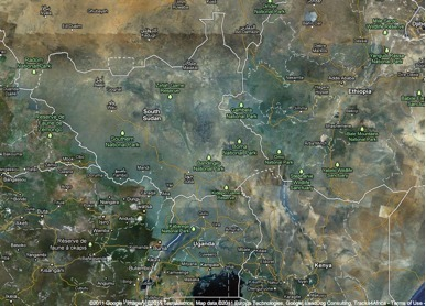 South Sudan is now official on Google Maps | Geospatial | Scoop.it